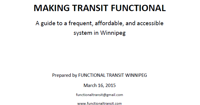 Read our report: Making Transit Functional