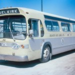 Beaver Bus Lines General Motors bus on the Selkirk run in the 1980s (Photo by Dennis Cavanagh, David Wyatt collection)