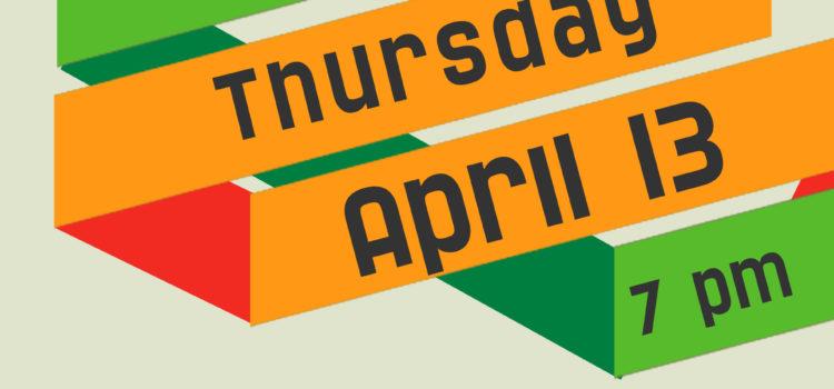 FTW AGM – April 13